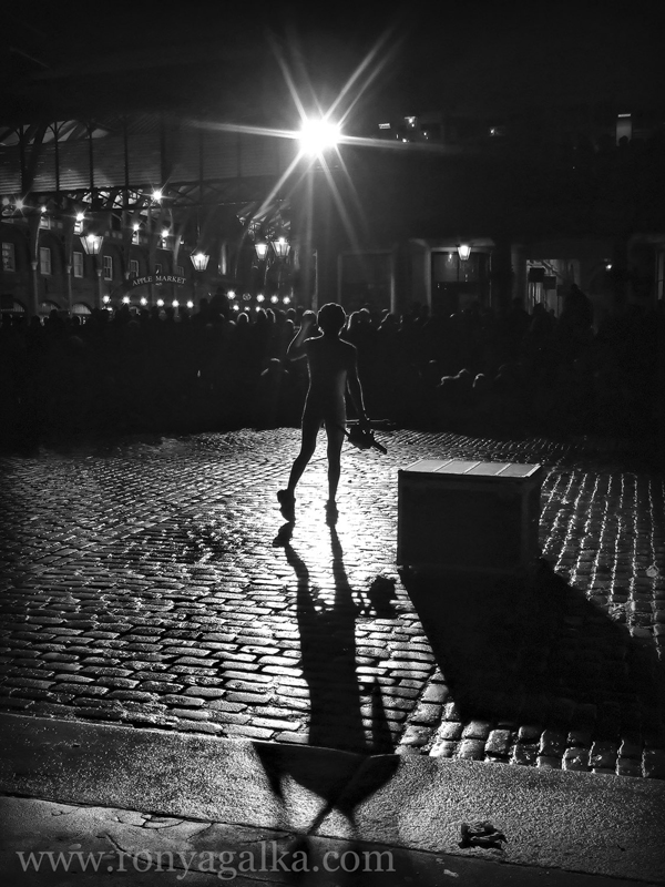 low light street photography london