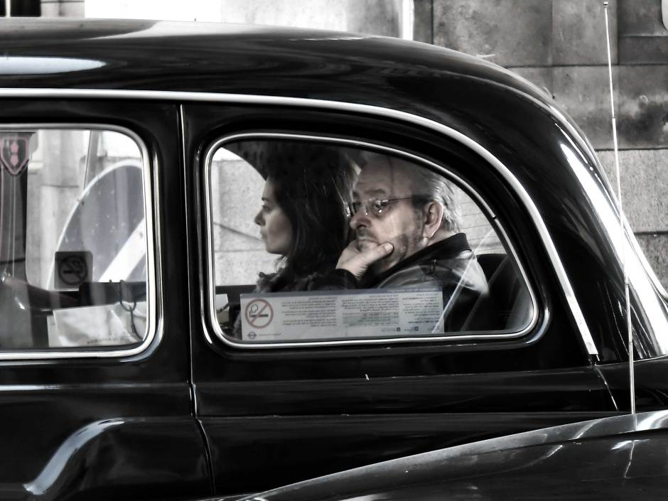 street photography london taxi