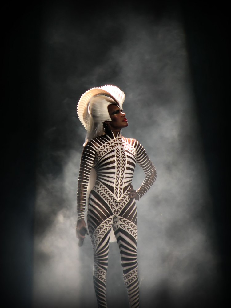 Grace Jones at Royal Albert Hall London
