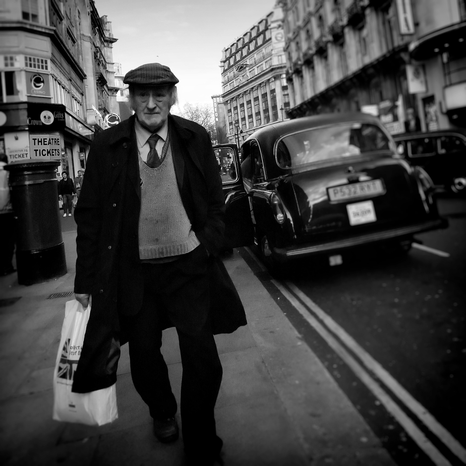 Great street photography london - urban solitude 3 Ricoh GX200