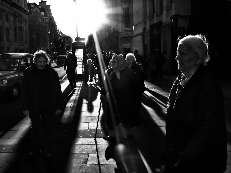 Amazing Black and White Street Photography Ricoh GX200