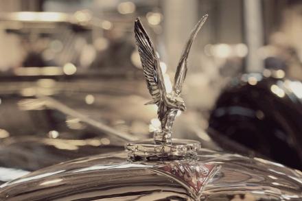 Stunning Alvis hood ornament s