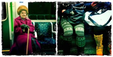 Ladies on London Underground