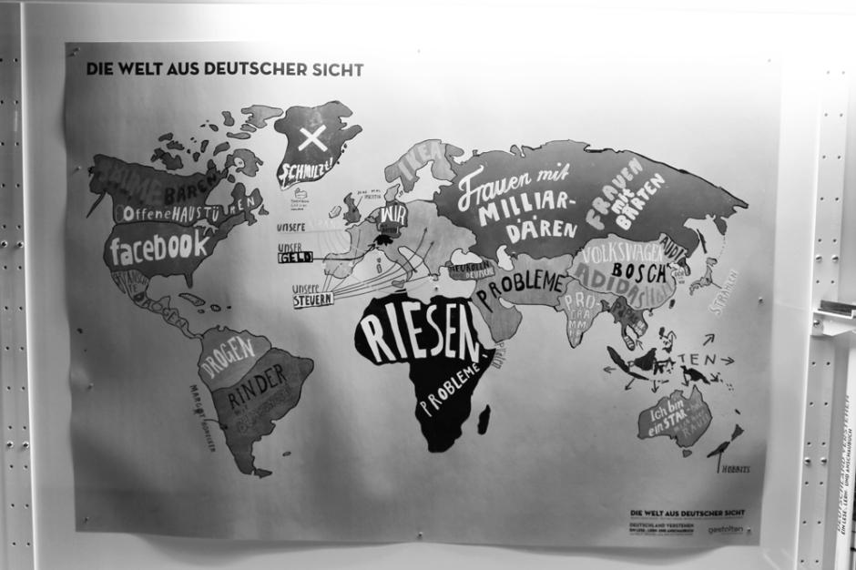 Die Welt aus deutscher Sicht