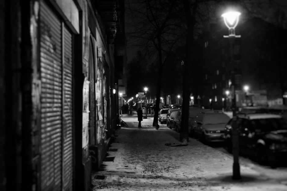 Neukoelln Berlin at night
