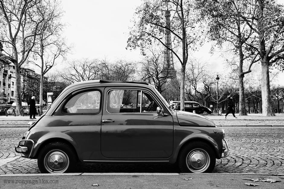 Classic Car Photography Paris