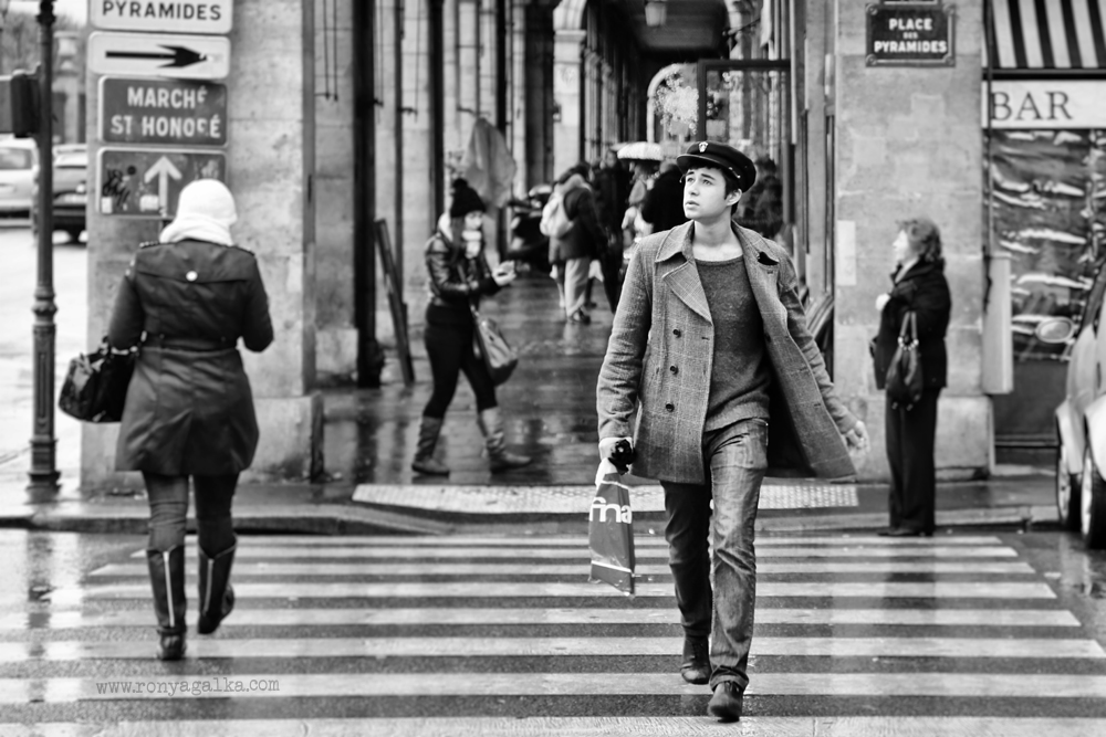 Paris Black And White Street Photography