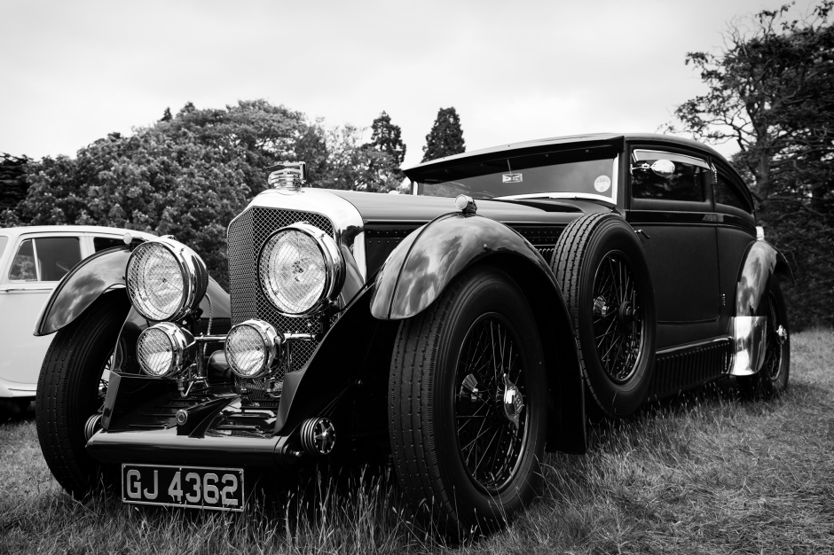 Classic Bentley Automobile