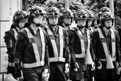 Street-Photography-Tokyo-Police