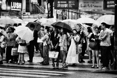 Street photography Tokyo